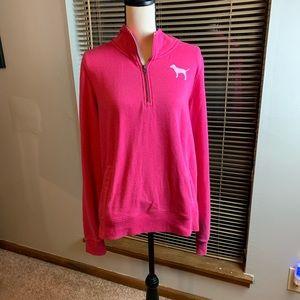 Pink Victoria's Secret sweatshirt size L